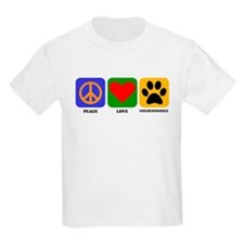 Peace Love Goldendoodle T-Shirt