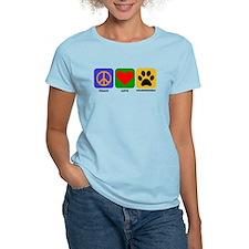 Peace Love Goldendoodle T-Shirt