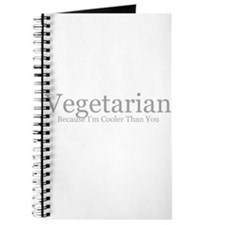 Vegetarian: because I'm coole Journal