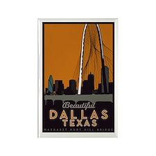 Dallas Bridge Magnets (10 Pack)