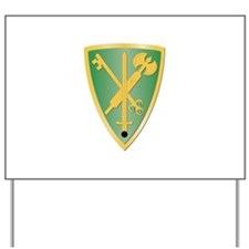 SSI - 42nd Military Police Brigade Yard Sign
