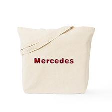Mercedes Santa Fur Tote Bag