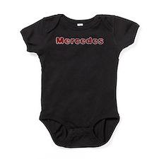 Mercedes Santa Fur Baby Bodysuit