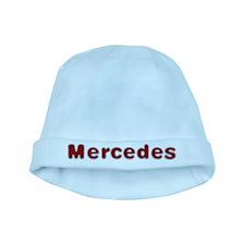 Mercedes Santa Fur baby hat