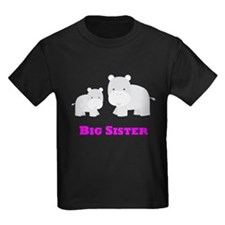 Big Sister Hippo T-Shirt