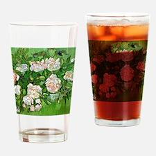 Van Gogh: Still Life - Pink Roses Drinking Glass