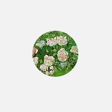 Van Gogh: Still Life - Pink Roses Mini Button