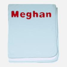 Meghan Santa Fur baby blanket
