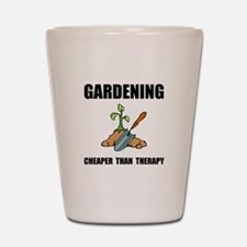 Gardening Therapy Shot Glass
