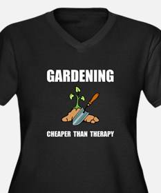 Gardening Therapy Plus Size T-Shirt