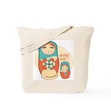 Nesting Mom Doll Tote Bag