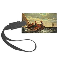 Breezing up a Fair Wind, Winslow Luggage Tag