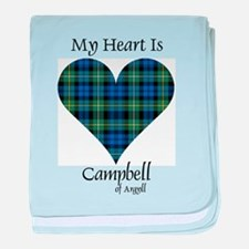 Heart - Campbell of Argyll baby blanket