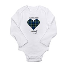 Heart - Campbell of Argyll Long Sleeve Infant Body