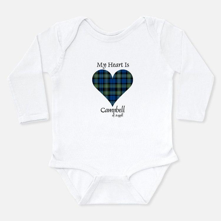 Heart - Campbell of Argyll Long Sleeve Infant Body