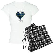 Heart - Campbell of Argyll Pajamas