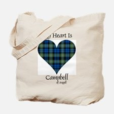 Heart - Campbell of Argyll Tote Bag