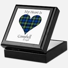 Heart - Campbell of Argyll Keepsake Box