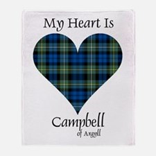 Heart - Campbell of Argyll Throw Blanket