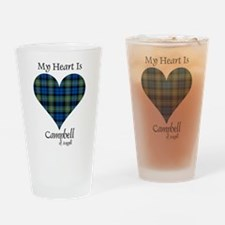 Heart - Campbell of Argyll Drinking Glass
