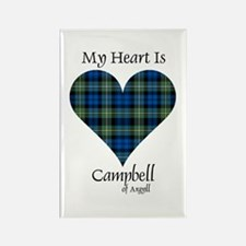 Heart - Campbell of Argyll Rectangle Magnet