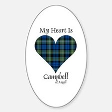Heart - Campbell of Argyll Decal