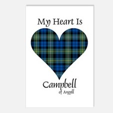Heart - Campbell of Argyll Postcards (Package of 8