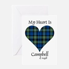 Heart - Campbell of Argyll Greeting Card