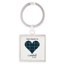 Heart - Campbell of Argyll Square Keychain