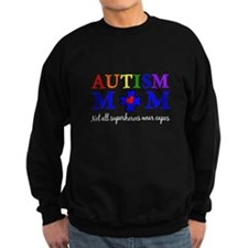 Autism Mom Superhero Sweatshirt