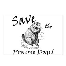 Save the Prairie Dogs! Postcards (Package of 8)
