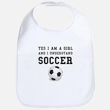 Girl Soccer Bib