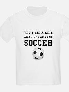 Girl Soccer T-Shirt
