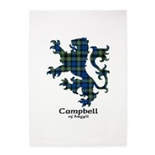 Lion - Campbell of Argyll 5'x7'Area Rug