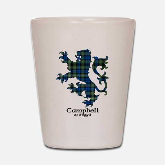 Lion - Campbell of Argyll Shot Glass