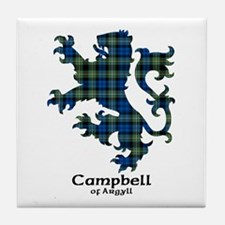 Lion - Campbell of Argyll Tile Coaster