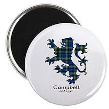 "Lion - Campbell of Argyll 2.25"" Magnet (10 pack)"