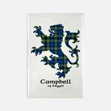 Lion - Campbell of Argyll Rectangle Magnet