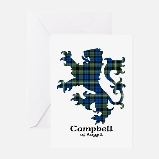 Lion - Campbell of Argyll Greeting Card