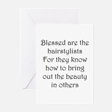 Hairstylist Greeting Cards