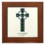 Cross - Campbell of Argyll Framed Tile