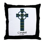 Cross - Campbell of Argyll Throw Pillow