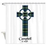 Cross - Campbell of Argyll Shower Curtain