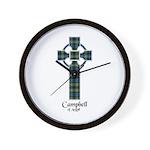 Cross - Campbell of Argyll Wall Clock