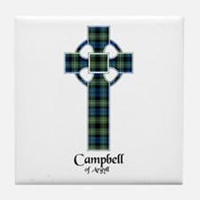Cross - Campbell of Argyll Tile Coaster