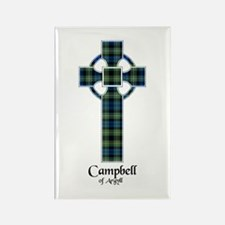 Cross - Campbell of Argyll Rectangle Magnet