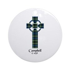 Cross - Campbell of Argyll Ornament (Round)