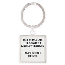 Laugh Themselves Keychains