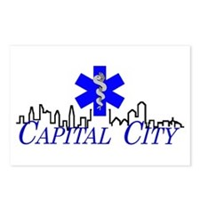 Capital City Ambulance Postcards (Package of 8)