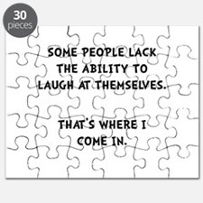 Laugh Themselves Puzzle